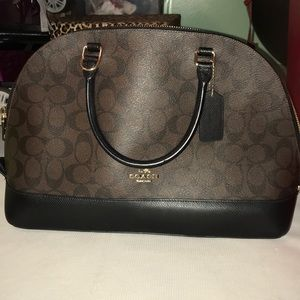 Real Coach purse. Brown. 100% Authentic